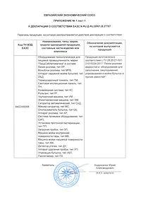 Декларация о соответствии ТР ТС ПродСибАвтоматика