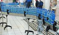 Конвейерная система для 1,5л бутылок ПЭТ