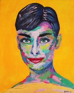 Siendo Audrey Hepburn