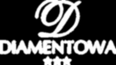 Logo białe Restauracja Diamentowa