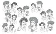 Bastion and Donovan Expressions Sheet