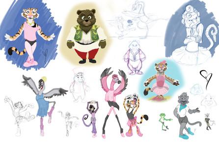 The Furry Princess Concept art
