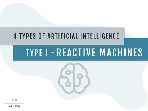 4 TYPES OF ARTIFICIAL INTELLIGENCE: TYPE I - REACTIVE MACHINES