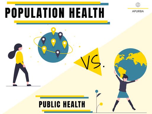 Population Health vs. Public Health