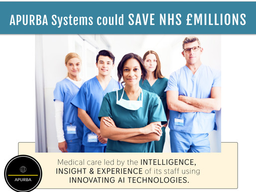 APURBA Technologies Could Save NHS Millions in Expenditures