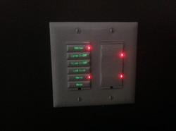 Kitchen 6 Button Keypad Backlit