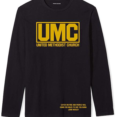 Black UMC long sleeve t-shirt