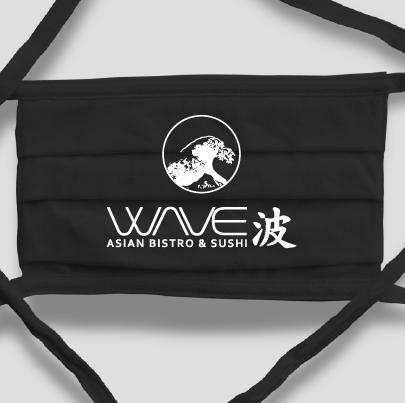 WAVE Logo - Super Soft Face Mask