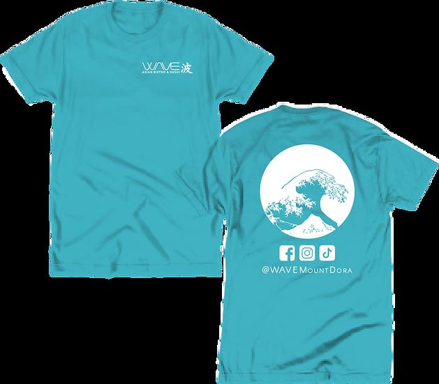 WAVE - Aqua Tee (Front/Back)