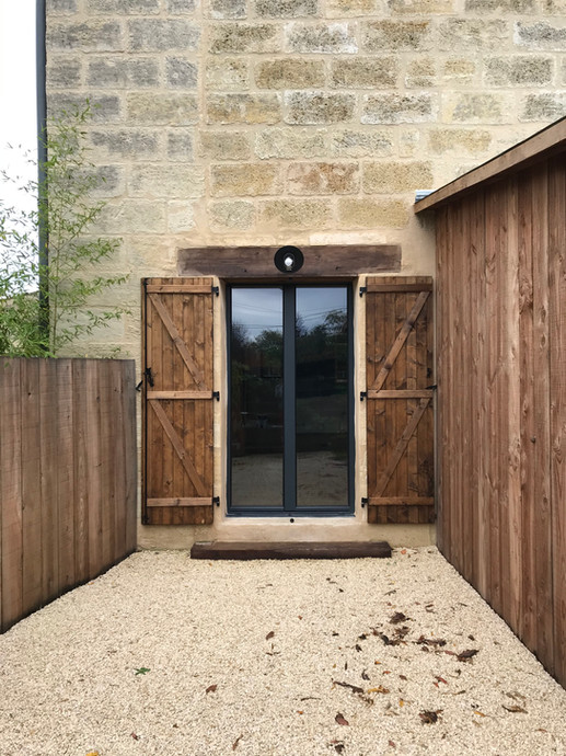Atelier Gloess et Dehaut Rénovation grange libourne lalande de pomerol