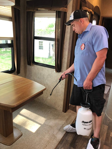 RV Upholstery and Carpet Cleaning