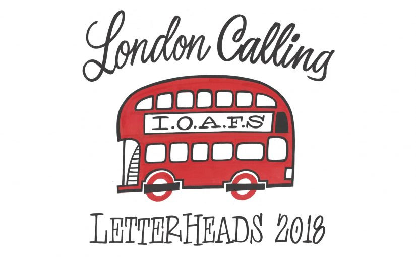 Letterheads meet London 2018