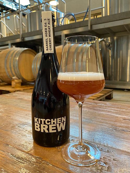 Barrel Aged Ed. 3 Cheery (Cherry) Wheat Ale