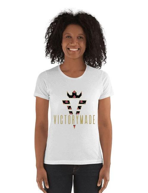 White VM Rose Ladies' Tee