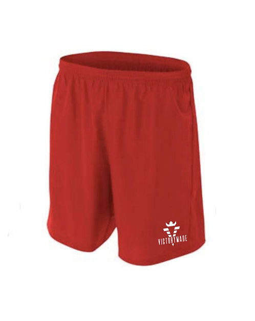 VM Men's Active Shorts -Red