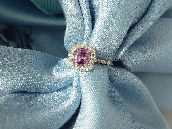 """Classic"" unheated pink sapphire"