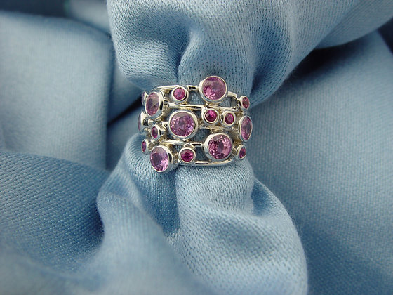 """""""Melody"""" pink sapphires"""