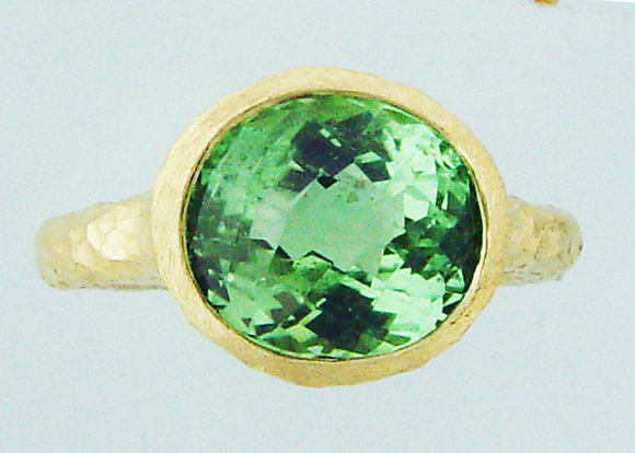 green tourmaline Jonc