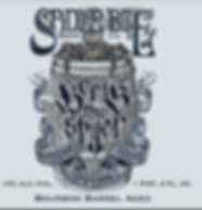 Limited Edition Bourbon Barrel Aged Boris the Spier Logo