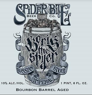 Limited Edition Bourbon Barrel Aged Boris the Spier Logo