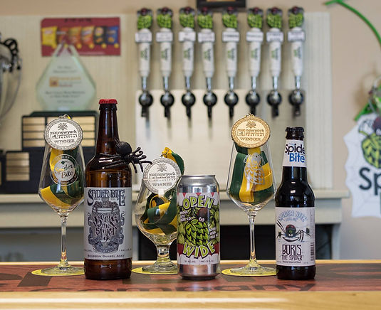Award Winning Beers and Medals