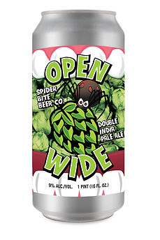 Open Wide - Double India Pale Ale Can