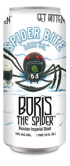 Boris Th Spider- Russian Imperial Stout Can