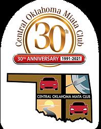 Central Oklahoma Miata Club 30th Anniver
