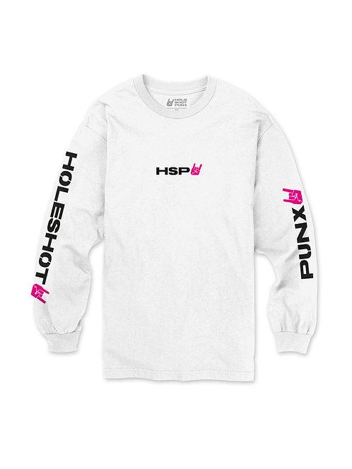 HSP TRIGGER Tričko Biele