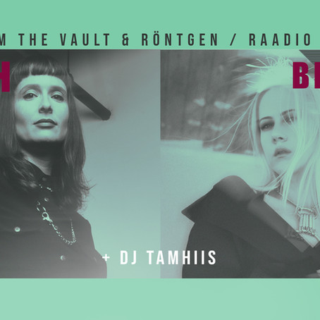 Live in Tallinn: 3rd of November in Sveta Baar alongside Xarah Dion