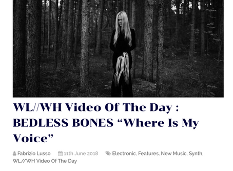 Where Is My Voice is Video Of The Day on WhiteLight//WhiteHeat