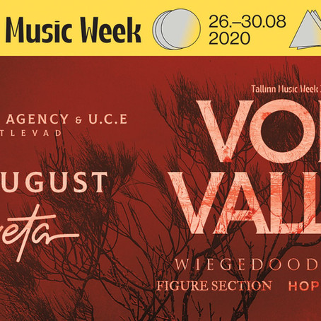 Playing live at Tallinn Music Week 2020: Void Valley with Wiegedood, Thot, Figure Section and Hope