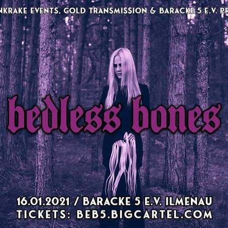 Playing live 16.01.2021 in Ilmenau, Germany