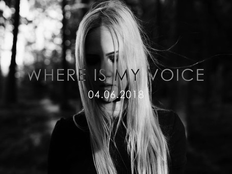 Video for WHERE IS MY VOICE on June 4th