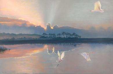 Shawn Dell Joyce, Fleeting Moment, 24x36