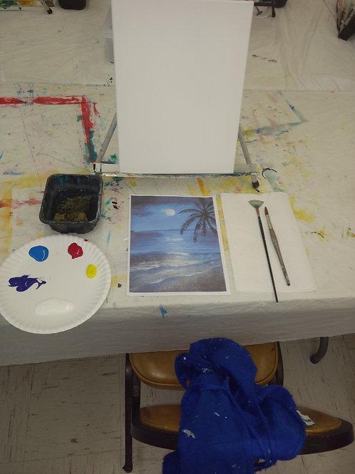 Beginning Acrylic Classes