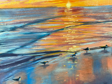 Secrets to Painting Sunsets and Water Reflections