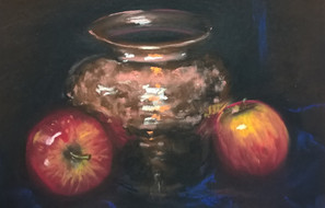 Apples and Copper, Pastel, 2017.jpg