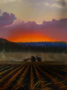 Morning Mist, Schroon Lake, Shawn Dell Joyce Pastel 16x20 $800