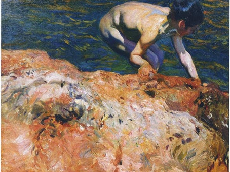 Sorolla and the Color of Light (paying homage)