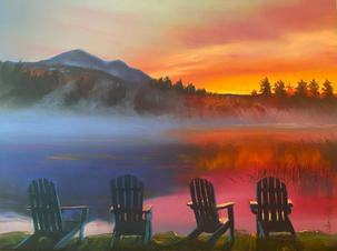 Front Row Seats, Schroon Lake, Shawn Dell