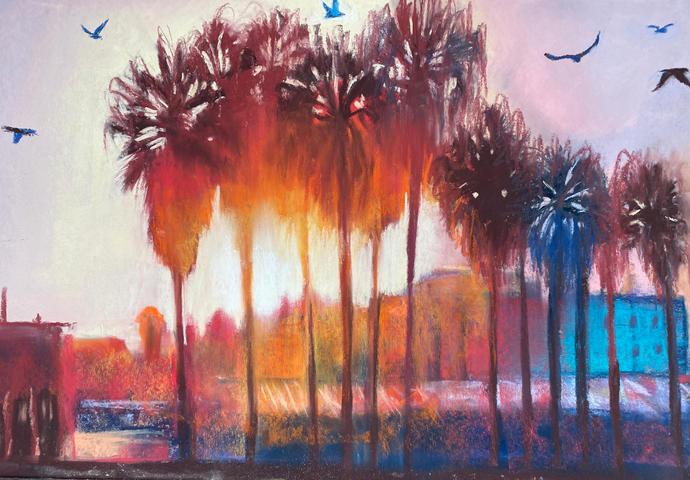 Summer Heat 2, Shawn Dell Joyce, Pastel