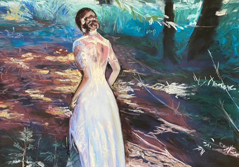 Persephone (Runaway Bride Series) Shawn Dell Joyce Pastel 16x20.JPG