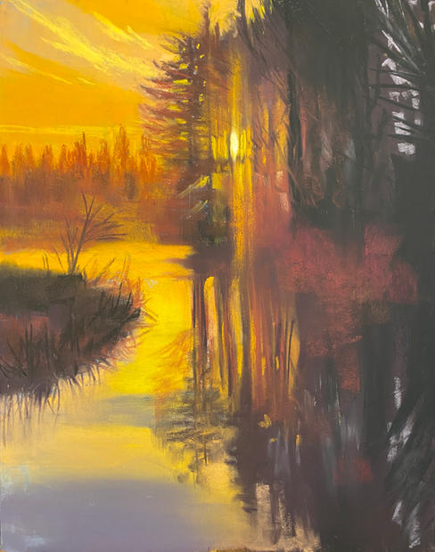 First Light, Shawn Dell Joyce, Pastel 16