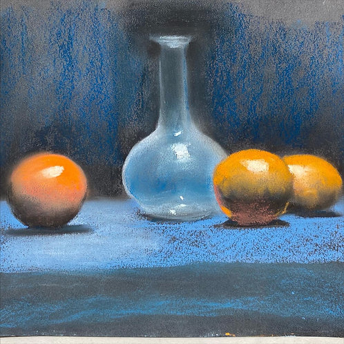 Complementary Palette Still LIfe