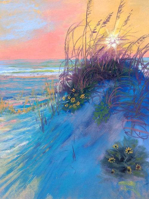Beach Scenes and Seascapes in Pastel