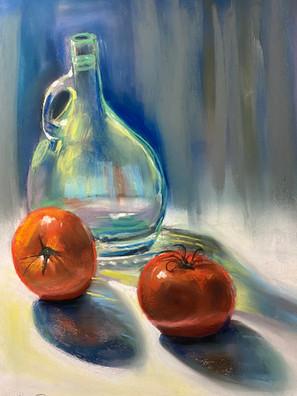 Tomatoesandglass_ShawnDellJoyce_Pastel_1