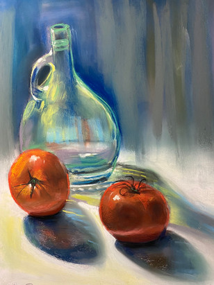 Tomatoes and Glass