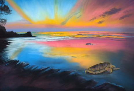 Ocean'sHope_ShawnDellJoyce_Pastel_24x36_