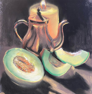 Shawn Dell Joyce Candle Lit Still Life.j